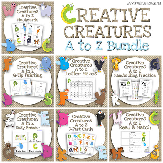 Creative Creatures A to Z Bundle
