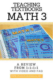 Teaching Textbooks Math 3 Review