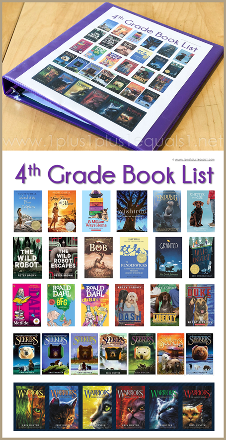 4th Grade Reading List