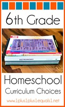 6th Grade Homeschool Curriculum Choices