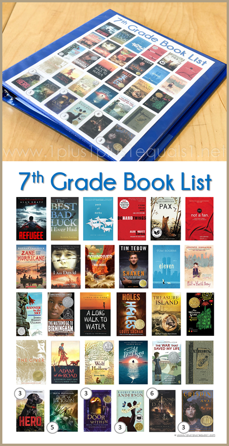 7th Grade Reading List