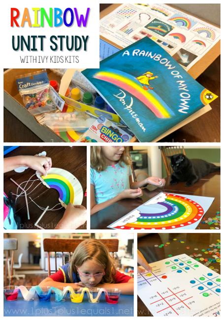Rainbow Unit Study with Ivy Kids Kits