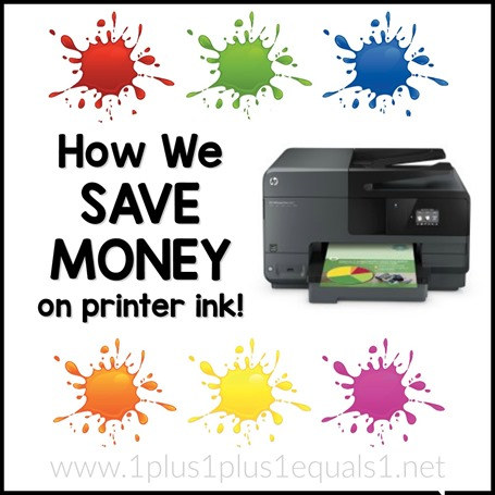 Save Money on Printer Ink FB