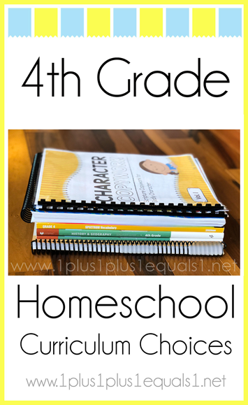 4th Grade Homeschool Curriculum Choices L