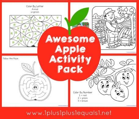 Apple Activity Pack