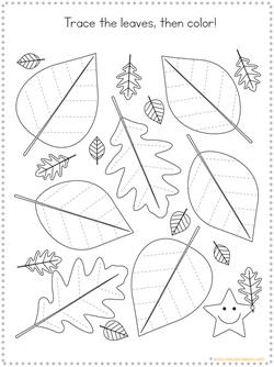 Fall Tracing Printables (2)