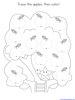 Tracing Fun with Apples (2)