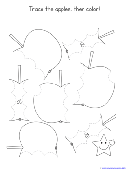 Tracing Fun with Apples (5)