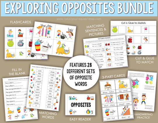 Exploring Opposites Bundle b