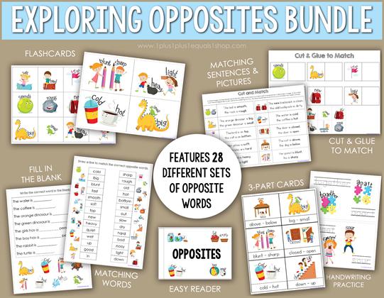 Exploring Opposites Bundle b