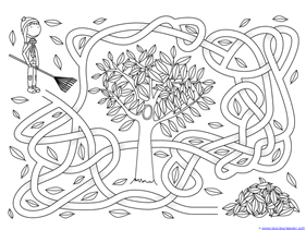 Fall Mazes for Kids (10)