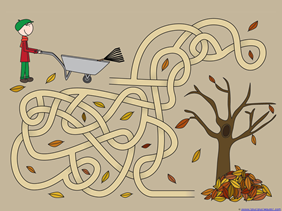 Fall Mazes for Kids (2)