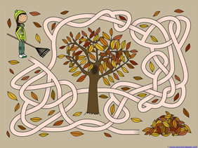 Fall Mazes for Kids (5)