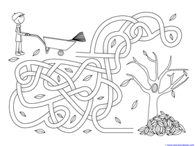 Fall Mazes for Kids (7)