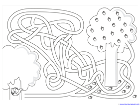 Fall Mazes for Kids (9)