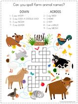Farm Animal Fun Pack (6)