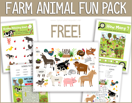 Farm Animal Pack