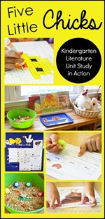 Five-Little-Chicks-Kindergarten-Literature-Unit-in-Action