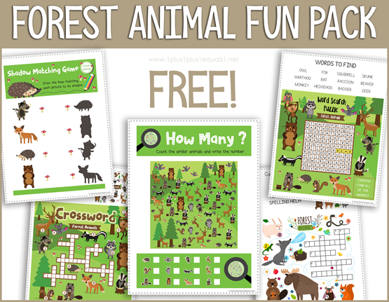 Forest Animal Pack