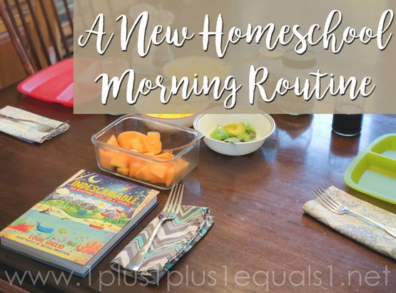 Homeschool Morning Routine