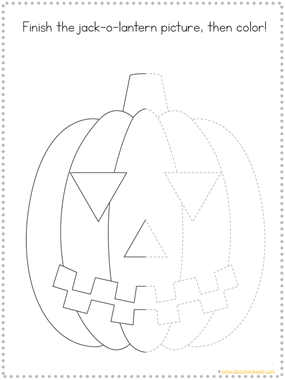 Tracing Fun Pumpkins (1)