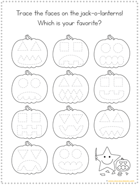 Tracing Fun Pumpkins (3)