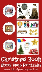 Christmas Book Story Prop Printables