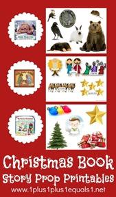 Christmas Book Story Prop Printables
