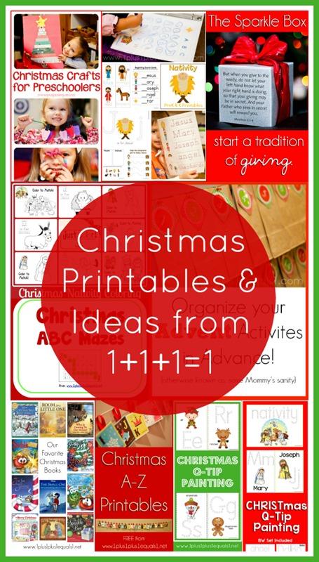 Christmas Printables and Ideas