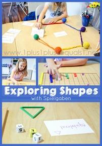 Exploring Shapes with Spielgaben