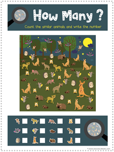 Nocturnal Animals Printables (3)