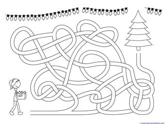 Christmas Mazes (10)