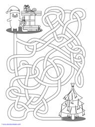 Christmas Mazes (12)