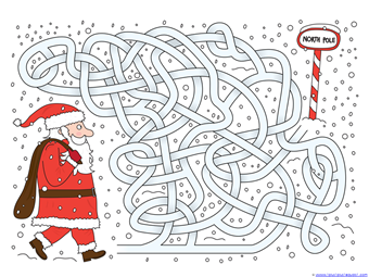 Christmas Mazes (4)