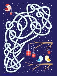 Christmas Mazes (5)
