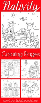 Christmas Nativity Coloring