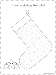Christmas Tracing Fun Printables (3)