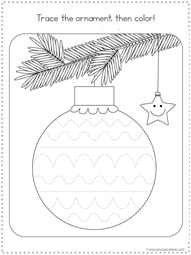 Christmas Tracing Fun Printables (6)