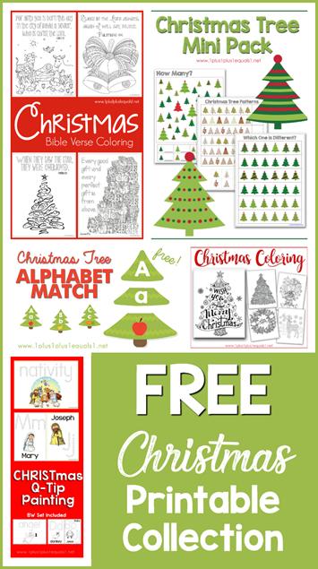 Free Christmas Printable Collection
