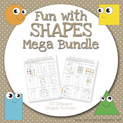 Fun with Shapes Mega Bundle