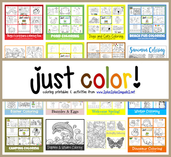 Just Color! Free Coloring Pages for Kids and Adults