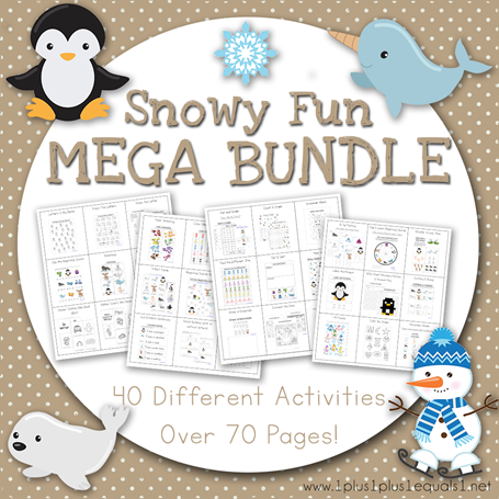 Snowy Fun Mega Bundle