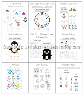 Snowy Fun Printable Mega Bundle (5)