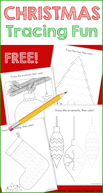 Tracing Fun Christmas