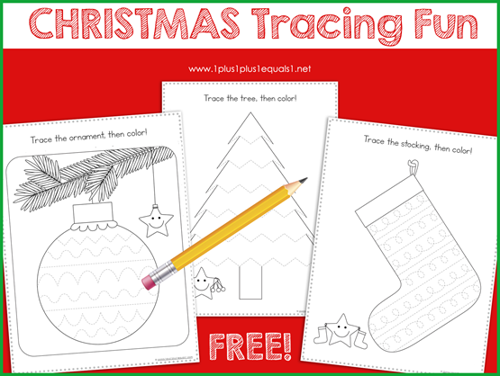 Tracing Fun for Christmas