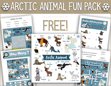 Arctic Animal Pack