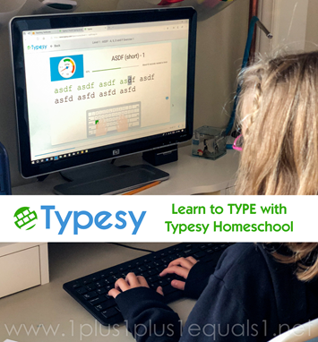 Typesy Homeschool Review from 1 1 1=1