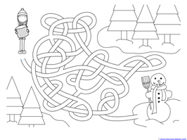Winter Mazes for Kids (12)
