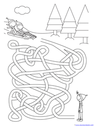 Winter Mazes for Kids (13)