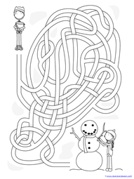 Winter Mazes for Kids (14)